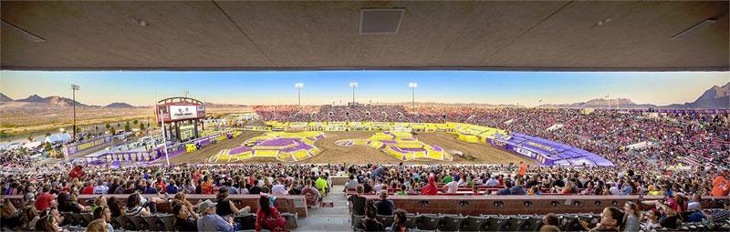 Sam Boyd Stadium Monster Jam World Finals